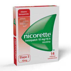 Nicorette Invisipatch 10 Mg/16 H Sistema Transdérmico