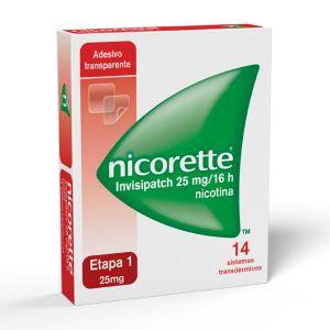 Nicorette Invisipatch 25 Mg/16 H Sistema Transdérmico