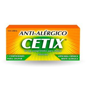 Cetix 10 Mg Comprimidos Para Chupar