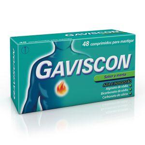Gaviscon Comprimidos Mastigáveis - 48 Comprimidos
