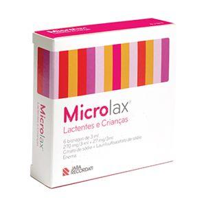 Microlax Criança Solução Retal
