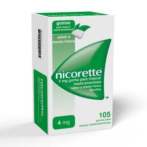 Nicorette 4 Mg Gomas Menta Fresca