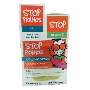 Stop Piolhos Kit Completo Cabelos Curtos
