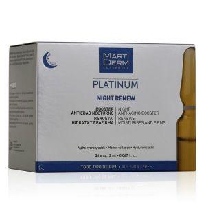 MartiDerm Platinum Night Renew Ampolas