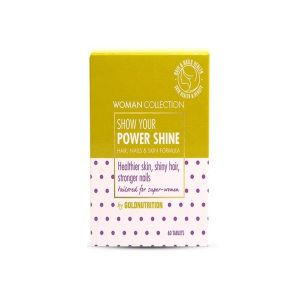 Goldnutrition - Power Shine - Hair, Skin And Nails Formula