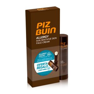 Piz Buin Allergy Face FPS50 + Oferta Stick Labial