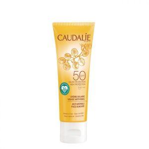 Caudalie Creme Solar de Rosto Antirrugas SPF 50