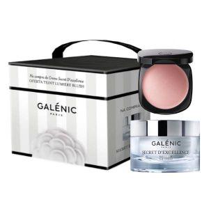 Galénic Coffret Secret D'Excellence Creme Oferta Teint Lumière Blush Creme Rosado