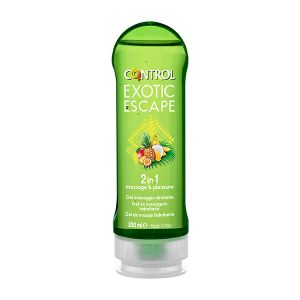 Control 2 Em 1 Gel Massagem Exotic Escape