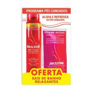 Akileine - Spray Frescura Viva + Sais De Banho