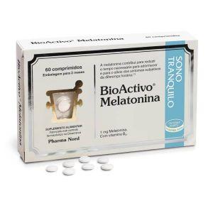 BioActivo Melatonina - 60 Comprimidos