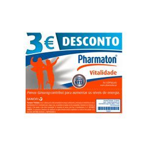 Pharmaton Vitalidade Cápsulas Desconto 3€