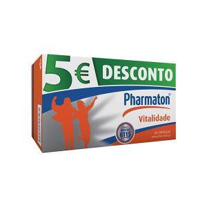 Pharmaton Vitalidade Cápsulas Desconto 5€