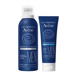 Avène Men Coffret Espuma Barbear + Fluido Após Barbear - 10€