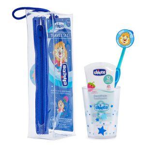 Chicco Conjunto de Higiene Oral Chicco Menino