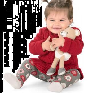Chicco - O Meu Primeiro Peluche Ursinho Doudou