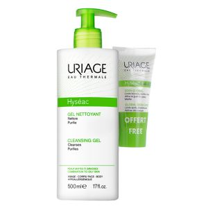 Uriage Hyséac Gel de Limpeza C/ Oferta de Hyséac 3-Regul Global Skin Care 15ml