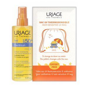 Uriage Bariésun Spray Infantil FPS 50+ Oferta Saco Termossensível