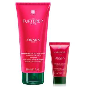 René Furterer Okara Protect Color Champô C/ Oferta de Okara Color Protection Mask