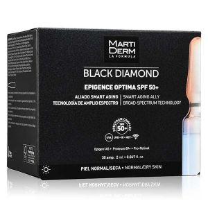 Martiderm Black Diamond Epigence Optima FPS50+ Ampolas