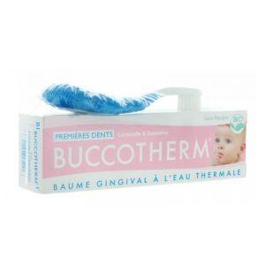 Buccotherm Kit Primeiros Dentes - Azul