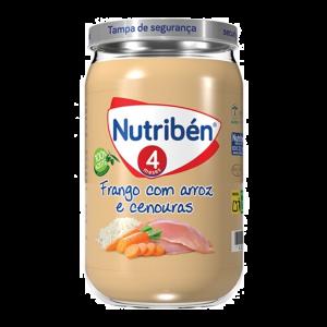 Nutribén Boião Frango Com Arroz e Cenouras