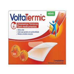 VoltaTermic Emplastro Térmico Não Médico (Formato Retangular)