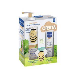 Mustela Bebé Pele Seca Gel Lavante Nutritivo com Cold Cream c/Oferta Creme Nutritivo com Cold Cream