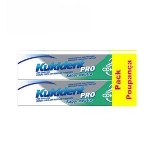 Kukident Pro Complete Duo Creme de Próteses