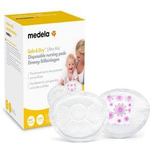 Medela Safe & Dry Protetores De Seio Descartáveis