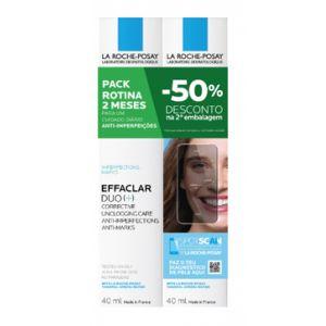 La Roche-Posay Effaclar Duo (+) - 50% Desc 2ª emb.