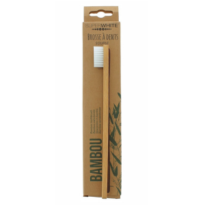 Bambou Superwhite Escova Dentes Flex Bambu