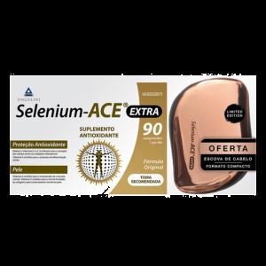 Selenium Ace Extra Ofera Escova De Cabelo