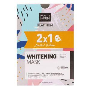 Martiderm Platinum Pack Whitening Mask