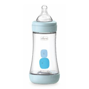 Chicco - Biberão Perfect5 Medium Azul 240ml