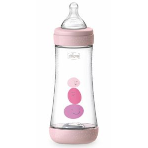 Chicco - Biberão Perfect5 Fast Rosa 300ml