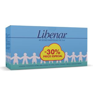 Libenar Baby Soro Fisiológico - 40 x 5ml