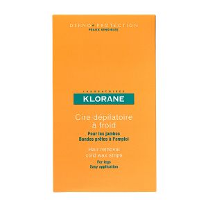 Klorane Dermo-Proteção Banda Depilatória Cera Fria Corpo