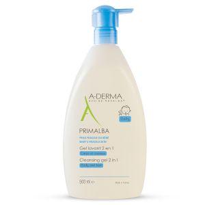 A-Derma Primalba Gel de Limpeza Corpo e Cabelo