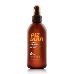Piz Buin Tan & Protect Pfs6 Óleo Spray Acelerador De Bronzeado