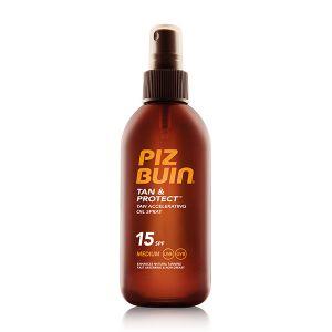 Piz Buin Tan & Protect Pfs15 Óleo Spray Acelerador De Bronzeado
