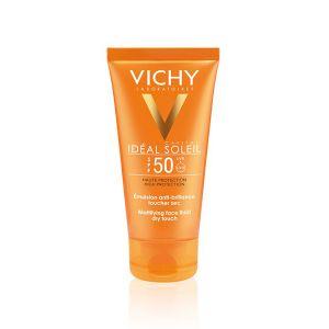 Vichy Idéal Soleil Emulsão Facial Toque Seco FPS 50