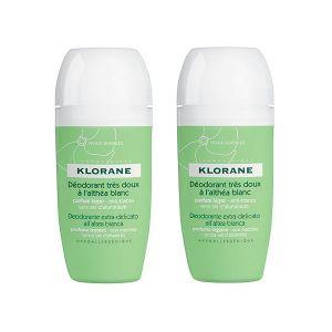 Klorane Dermo-Proteção Desodorizante Roll-On Alteia - Duo