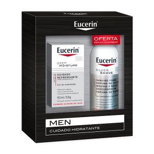 Eucerin Men Creme Hidratante + Oferta Espuma De Barbear