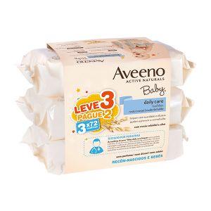 Aveeno Baby Toalhitas Leve 3 Pague 2