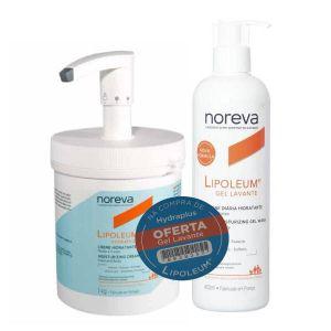 Noreva Lipoleum Hydraplus Creme Hidratante Oferta Gel Lavante