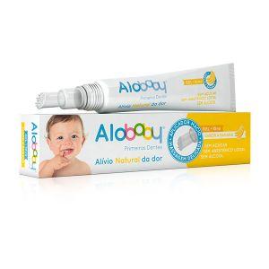 Alobaby Primeiros Dentes - Gel Com Sabor A Banana