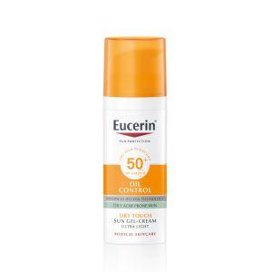 Eucerin Sunface Gel-Creme Toque Seco Rosto SPF 50+
