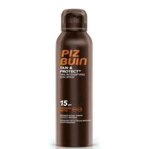 Piz Buin Tan & Protect Spray Solar Intensificador De Bronzeado FPS 15