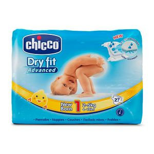 Chicco - Fraldas Dry Fit Advanced T1